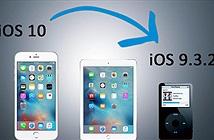 Cách trở về iOS 9.3.2 sau khi nâng cấp lên iOS 10