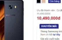 Samsung Galaxy C9 Pro vừa được giảm giá bán tại thị trường Việt Nam