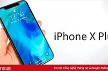Lần đầu tiên iPhone vượt Galaxy Note về kích thước với iPhone X Plus