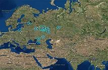 Bản đồ này sẽ đưa bạn đến 12sân vận động diễn ra World Cup 2018 tại Nga trong nháy mắt