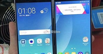 Lộ diện smartphone có thể gập đôi của Samsung