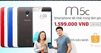 Meizu hợp tác cùng Shopee triển khai đợt Super Flash Sale cuối cùng cho Meizu M5c