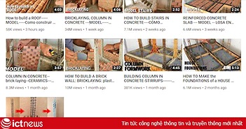 """Trố mắt với YouTube của anh phụ hồ xây nhà siêu nhỏ mà view """"siêu to khổng lồ"""": Trung bình 5 triệu view/đêm!"""