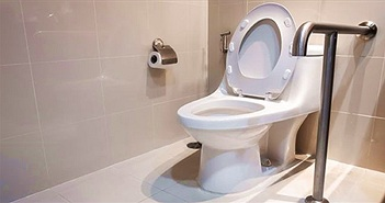Nhà vệ sinh có thể lây lan bệnh Legionnaires
