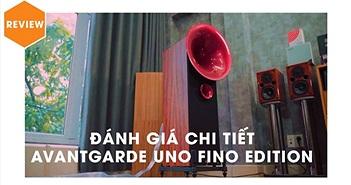 Cận cảnh Avantgarde Uno Fino Edition - Loa kèn tốt nhất dành cho phòng nghe nhỏ