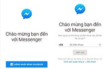 Có thể nhắn tin Facebook Messenger mà không cần tài khoản