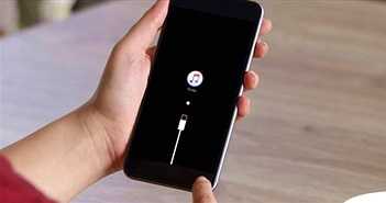 """Cách đưa iPhone vào chế độ phục hồi khi bị treo ở """"quả táo cắn dở"""""""