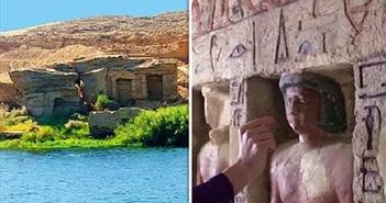 Phát hiện điều kinh ngạc trong hầm mộ Ai Cập 4.500 năm