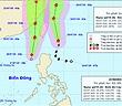 Bão Danas và áp thấp nhiệt đới gây rủi ro thiên tai cấp 3 ở Biển Đông