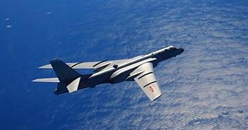 Căng thẳng máy bay ném bom H-6K TQ lao ra biển TBD