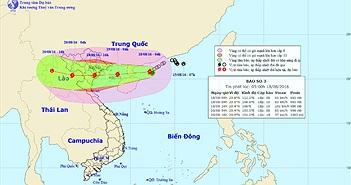 Bão Dianmu tăng tốc, Hà Nội chuẩn bị đón bão