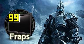 Cách chụp và quay video game bằng phần mềm Fraps