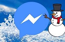 Cách tạo hiệu ứng tuyết rơi trên Facebook Messenger