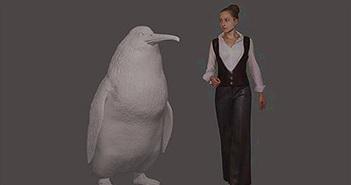Tìm ra chim cánh cụt khổng lồ cao 1,6 m ở New Zealand