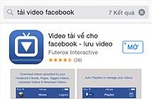 Tải video trên Facebook về iPhone/iPad dễ như trở bàn tay