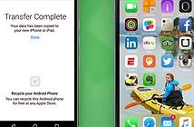 Ba cách chuyển địa chỉ liên hệ từ Android sang iPhone
