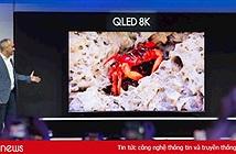 """Samsung, LG tiếp tục """"khẩu chiến"""" chất lượng tivi 8K"""
