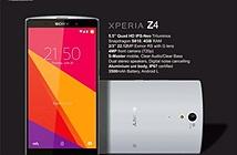 Sony Xperia Z4 5.5 inch 2K, chạy Snapdragon 810, 4GB RAM