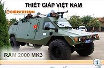 Infographic: Xe thiết giáp hiện đại của Công an Việt Nam