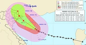 Siêu bão Haima giật trên cấp 17, di chuyển thần tốc vào Biển Đông