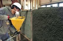 Bê tông xịt đặc biệt giúp các tòa nhà chống động đất