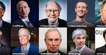 Các ông trùm công nghệ áp đảo top 400 tỷ phú của Forbes