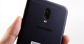 Ngắm smartphone camera kép Samsung Galaxy J7+ vừa mở bán