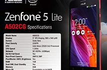 ASUS ra mắt ZenFone 5 Lite: Đã rẻ nay còn rẻ hơn