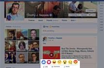 Facebook mở rộng nút Like với 6 biểu tượng cảm xúc mới