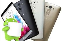 LG cập nhật Android 6.0 cho smartphone G3 từ giữa tháng 12