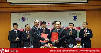 VNPT hợp tác với Viện Hàn lâm Khoa học Việt Nam để phát triển sản phẩm công nghệ cao