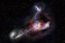Thiên hà sáng nhất vũ trụ ăn thịt ba đồng loại