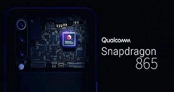 Chip xử lý Qualcomm Snapdragon 865 lộ thông số