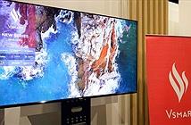 TV Vsmart xuất hiện với màn hình 55 inch, độ phân giải 4K
