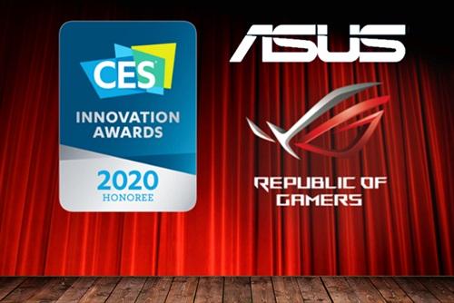 ASUS Chiến Thắng 11 Giải Thưởng Sáng Tạo CES 2020 Innovation Awards