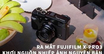 Fujifilm X-Pro3 ra mắt: Vỏ titan, khung ngắm mới, hiệu năng vượt trội, giá từ 41 triệu