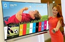 LG trình làng smart TV thế hệ mới sử dụng WebOS 2.0 vào đầu năm sau