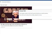 Facebook bất ngờ chặn không cho người dùng khen Google