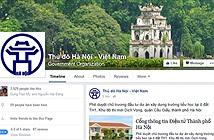 UBND TP. Hà Nội lập trang Facebook
