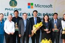 Địa ốc Phú Long hợp tác với Microsoft Việt Nam đẩy mạnh số hóa doanh nghiệp