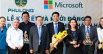 """Địa ốc Phú Long hợp tác với Microsoft Việt Nam đẩy mạnh """"số hóa doanh nghiệp"""""""