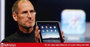 Nguồn gốc iPad xuất phát từ yêu cầu này của Steve Jobs: Một miếng kính để đọc email trong toilet