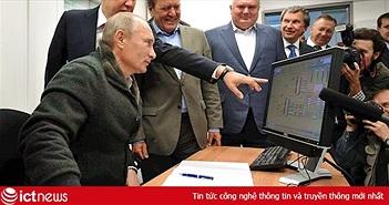 Tổng thống Putin vẫn đang dùng máy tính chạy Windows XP