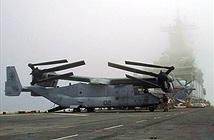 """""""Chim ưng biển"""" V-22 Osprey, trực thăng chở quân duy nhất trên tàu sân bay Mỹ"""