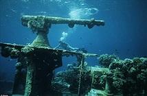 Nghĩa địa tàu chiến đầy ám ảnh trong lòng Thái Bình Dương
