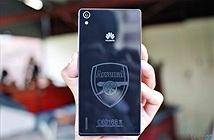 Chiêm ngưỡng Huawei Ascend P7 Arsenal: mẫu smartphone dành cho fan Pháo thủ