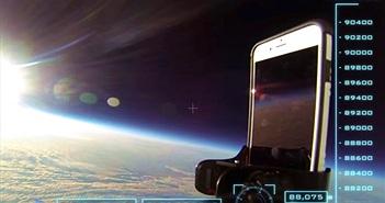 """""""Nhảy dù"""" từ 30.000m iPhone 6 vẫn sống"""