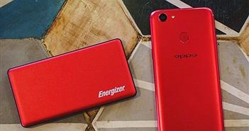 Đón Xuân 2018 cùng bộ đôi 'đỏ chót' Oppo F5 RED và pin dự phòng Energizer phiên bản giới hạn