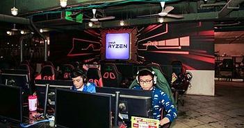 AMD kết hợp Cyzone trang bị CPU Ryzen mới nhất cho phòng game i-Cafe