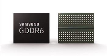 Samsung là công ty đầu tiên đi vào sản xuất hàng loạt bộ nhớ GDDR6